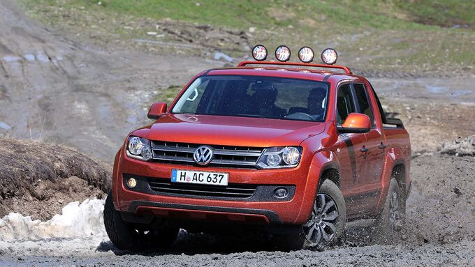 vw amarok canyon action amarok im fahrbericht auto motor und sport. Black Bedroom Furniture Sets. Home Design Ideas