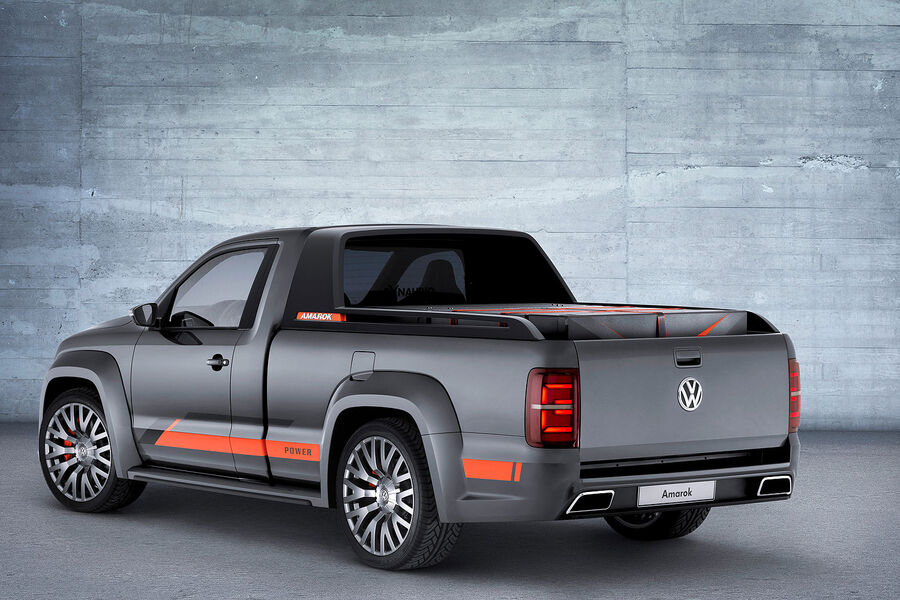 Пикап для диджея Volkswagen Amarok Power. Концепт 2014 года