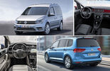 VW Caddy vs VW Touran