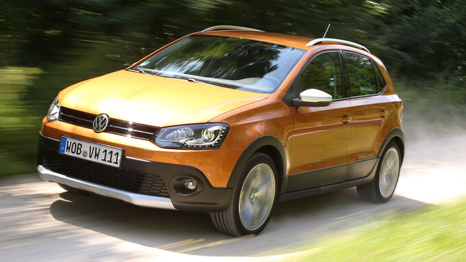 vw cross polo 1 2 tsi im kurztest robuster muster. Black Bedroom Furniture Sets. Home Design Ideas
