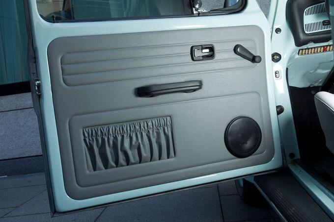 RETROSOUND Kickpanels für VW Käfer Cabrio ohne Lautsprecher 1956-70