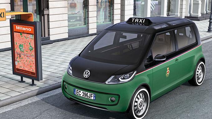vw stellt elektro taxi vor vw milano taxi mit elektroantrieb auto motor und sport. Black Bedroom Furniture Sets. Home Design Ideas