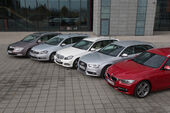 VW Passat Variant 2.0 TDI Highline, BMW 320d Touring Sportline, Audi A4 Avant 2.0 TDI Ambition