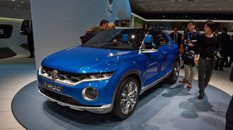 VW T-Roc, Genfer Autosalon, Messe, 2014