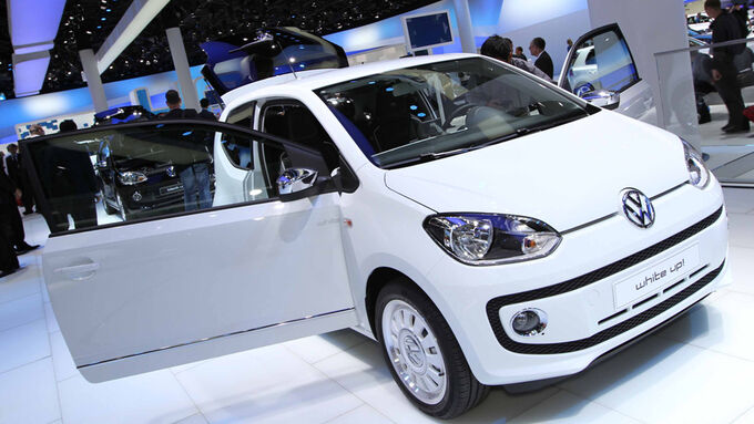 vw up auf der iaa mini auto mit maxi platz auto motor. Black Bedroom Furniture Sets. Home Design Ideas