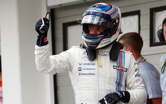 Valtteri Bottas - Williams - Formel 1 - GP Ungarn - 26. Juli 2014