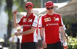 Vettel Räikkönen - Ferrari - Formel 1 - GP Malaysia - 28. März 2015
