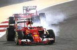 Vettel  Räikkönen - GP Bahrain 2015