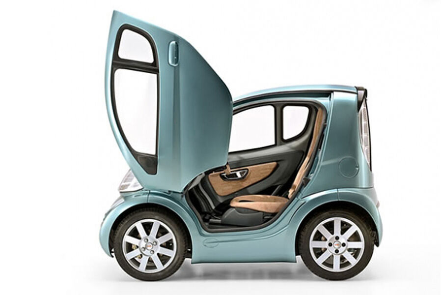 volpe startet 2013 f r knapp euro mini e auto von. Black Bedroom Furniture Sets. Home Design Ideas