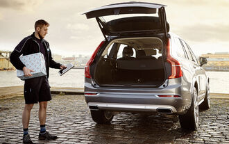 Volvo In-Car-Delivery Lieferdienst