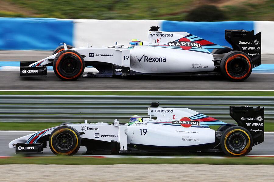 Williams fw37 für 2015 im technik check der bessere fw36