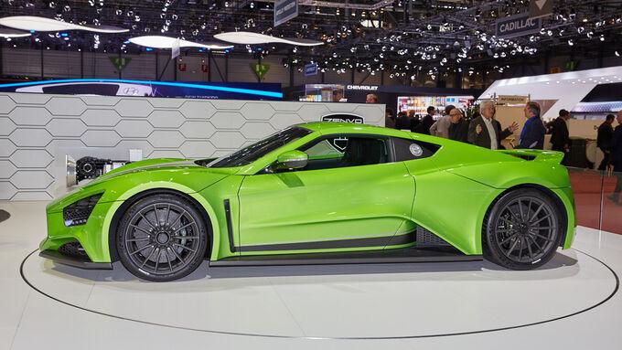 Zenvo ST1 - Supersportwagen - Genfer Autosalon 2015
