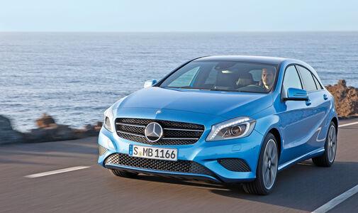 auto, motor und sport Leserwahl 2013: Kategorie C Kompaktklasse - Mercedes A-Klasse