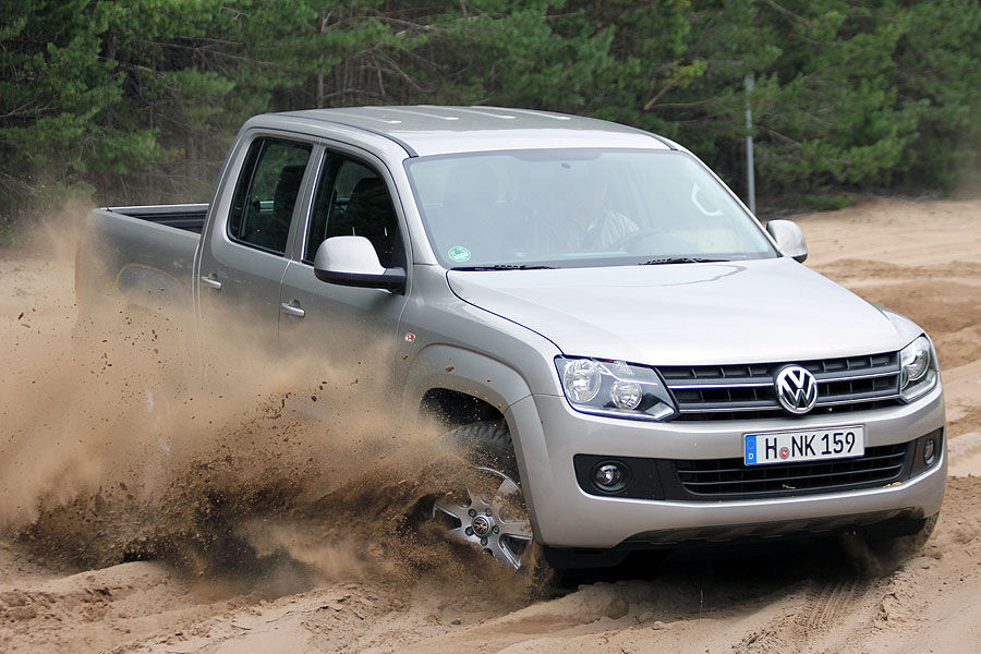 supertest vw amarok 4motion bi tdi der volkswagen pickup im h rtetest auto motor und sport. Black Bedroom Furniture Sets. Home Design Ideas