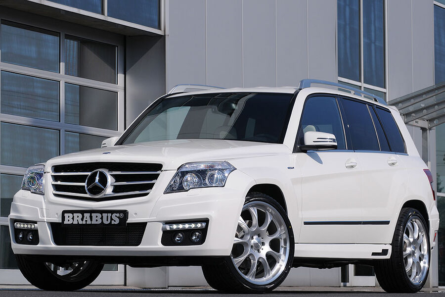 brabus mercedes glk sport kraxler auto motor und sport. Black Bedroom Furniture Sets. Home Design Ideas