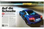 Test Audi R8 V10 Plus