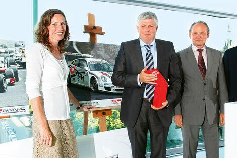 sport-auto Award 2012, Horst von Saurma, Anja Wassertheurer