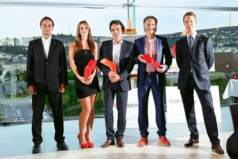 sport-auto Award 2012, Nicole Hohenester, Rainer Vogel
